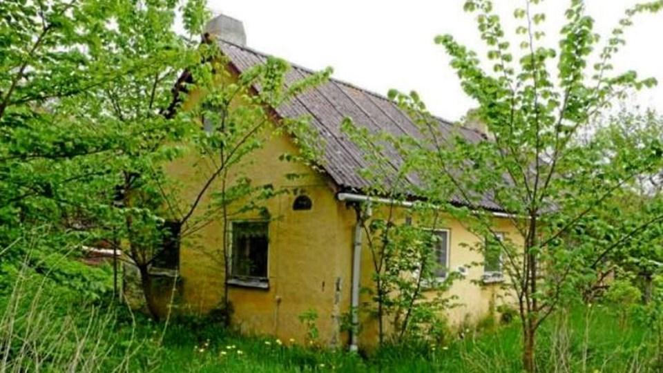 Dette lille hus på Guldhøjsvej i Dokkedal bliver fjernet. Foto: Aalborg Kommune