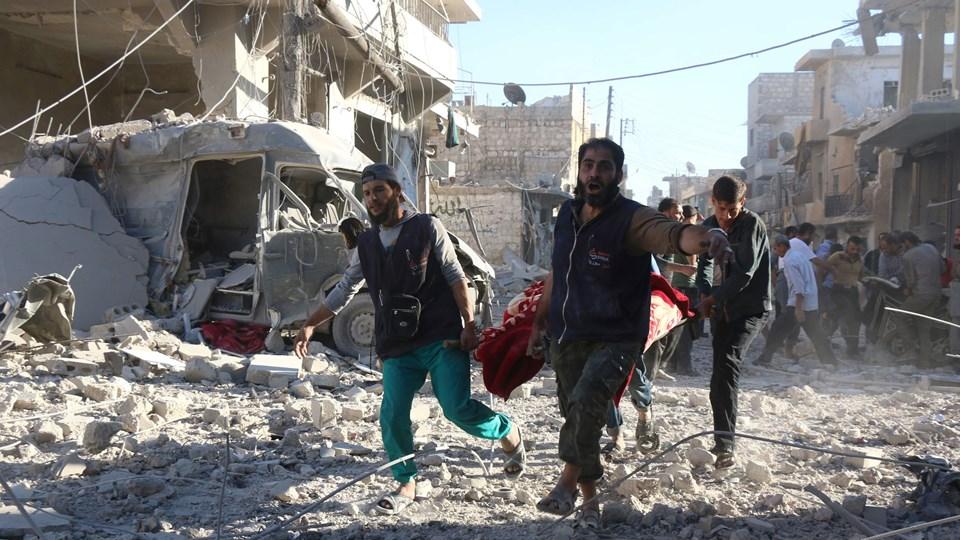 TOPSHOT-SYRIA-CONFLICT-ALEPPO Foto: Scanpix/Thaer Mohammed