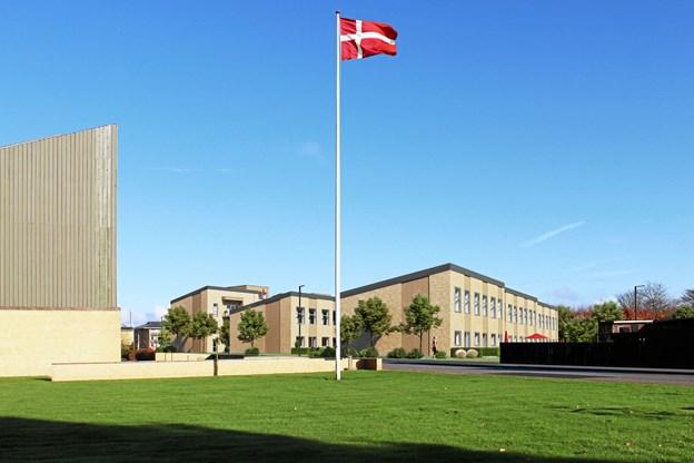 Sådan kommer de nye rækkehuse på Digtervejen til at se ud. Visualisering: Randers Arkitekten Aps.