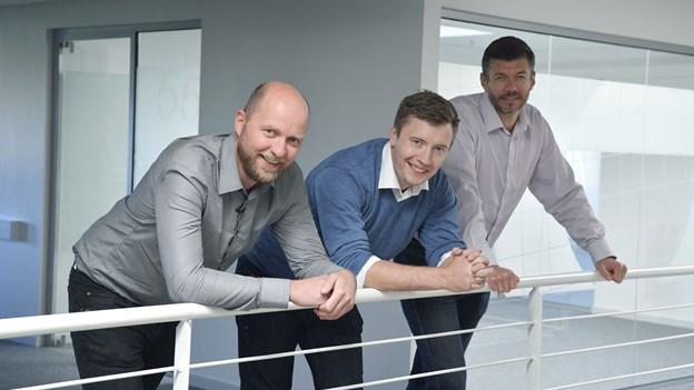 Tre nordjyske direktører er verdenskendte: Investorer i kø med millioner til ny idé