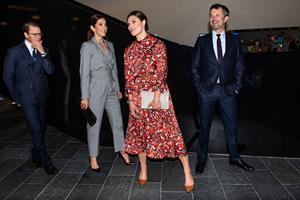 BILLEDSERIE: Svensk kronprinsessepar besøger Danmark