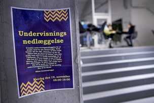 VUC-studerende protesterer mod ny fraværsordning: Vi får fravær for at gå på toilettet