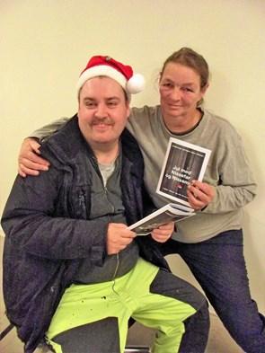 Robin digter sine egne juleeventyr på Sødisbakke