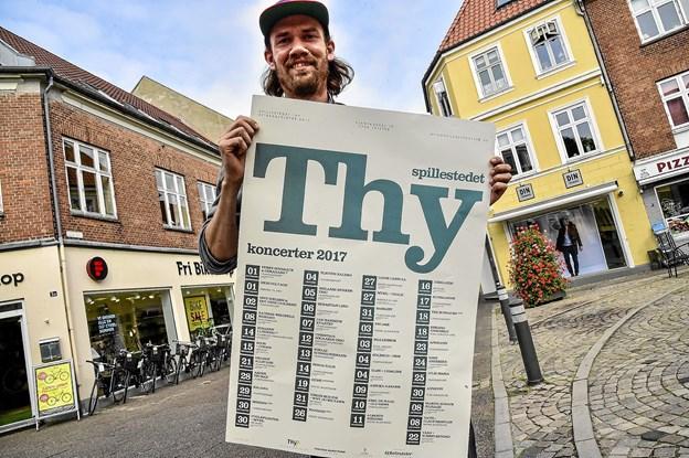 Over 100 koncerter i år: 7000 solgte billetter i 2018 bringer spillested i Thy godt på vej