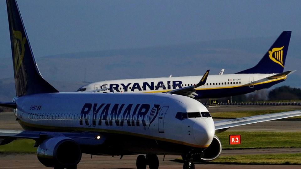 Ryanairs overskud steg i tredje kvartal på trods af store problemer med selskabets piloter. Foto: Phil Noble/Rizau Scanpix/Reuters/