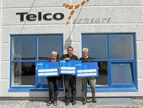 Tre gange jubilæum hos Telco Electronics A/S