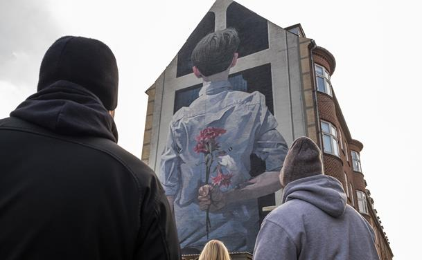 Ny street art walk: Oplev Aalborgs fantastiske gavlmalerier