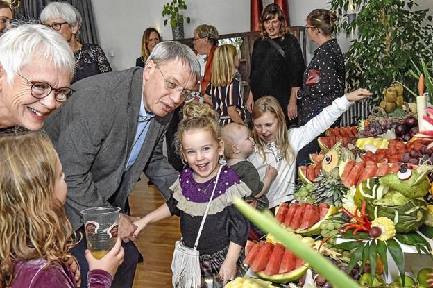 Dagens hit hos børnene. Foto: Ole Iversen