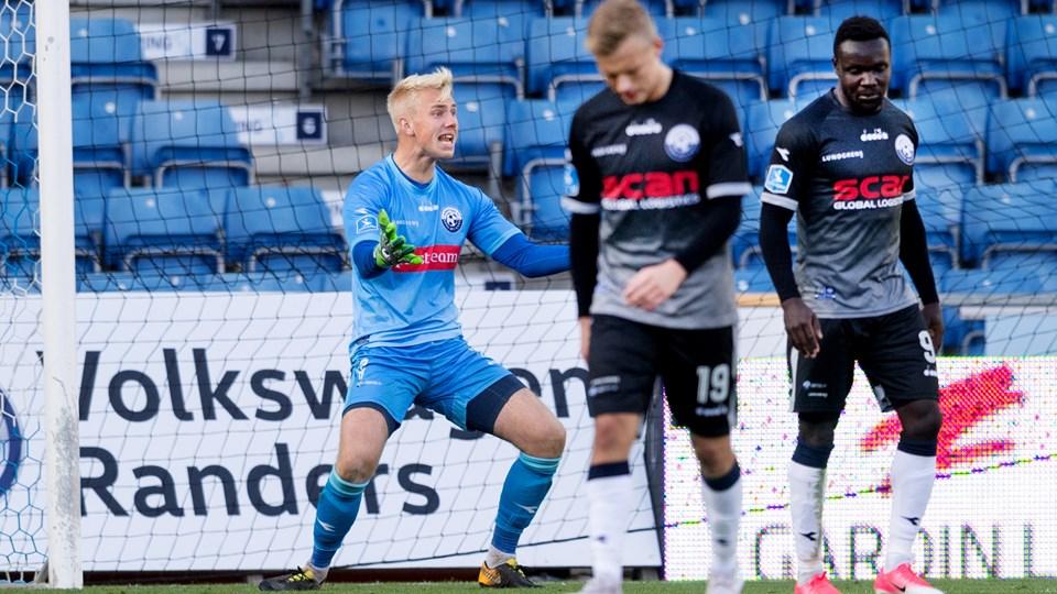Nicolai Flø er blevet degraderet i Vendsyssel FF. Arkivfoto: Torben Hansen