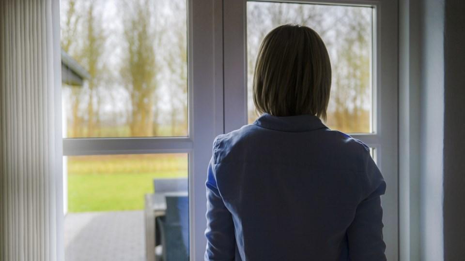 Det skal være lettere at komme ud af ensomhed, angsto og depression det næste år i Vesthimmerland. Her sætter kommunen ekstr fokus på mental sundhed. arkivfoto: Daniel Bygballe