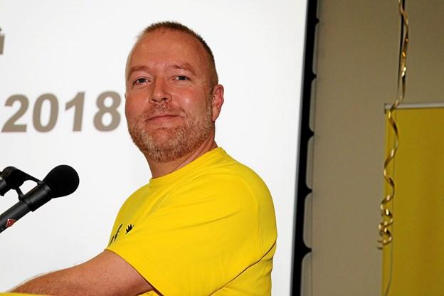 Chef for Natteravnene,Claus Staunstrup Nilsson gjorde det fremragende til årets Landsmøde. Foto: Flemming Dahl Jensen Flemming Dahl Jensen
