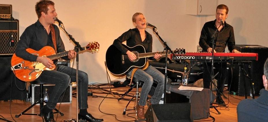 Musikfest i Bønnehuset med trio