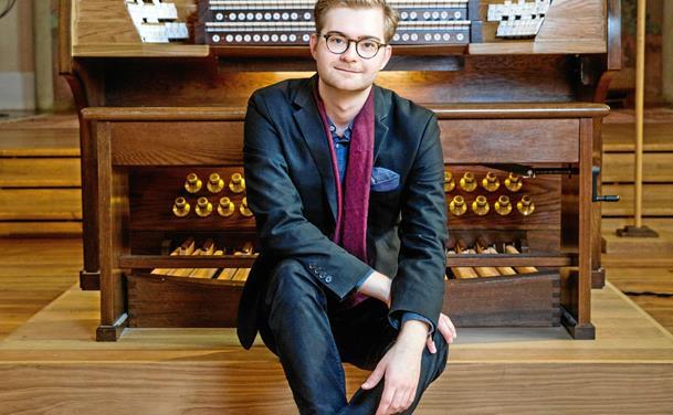 Fransk orgelaften med ungt svensk orgeltalent
