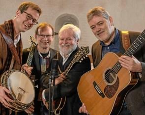 Bluegrass-musik i sejlklubben