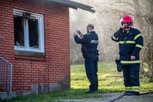 Effektive brandfolk hindrede brand i at sprede sig