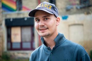 23-årige Mikkel vil ruske op i Hjørring: - Her sker ikke meget for os studerende
