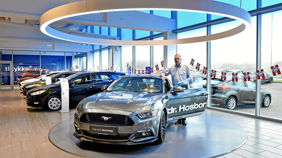 Brdr. Hosbond A/S sælger Ford-biler i Aalborg, Hjørring, Frederikshavn og Brønderslev. Arkivfoto: Claus Søndberg