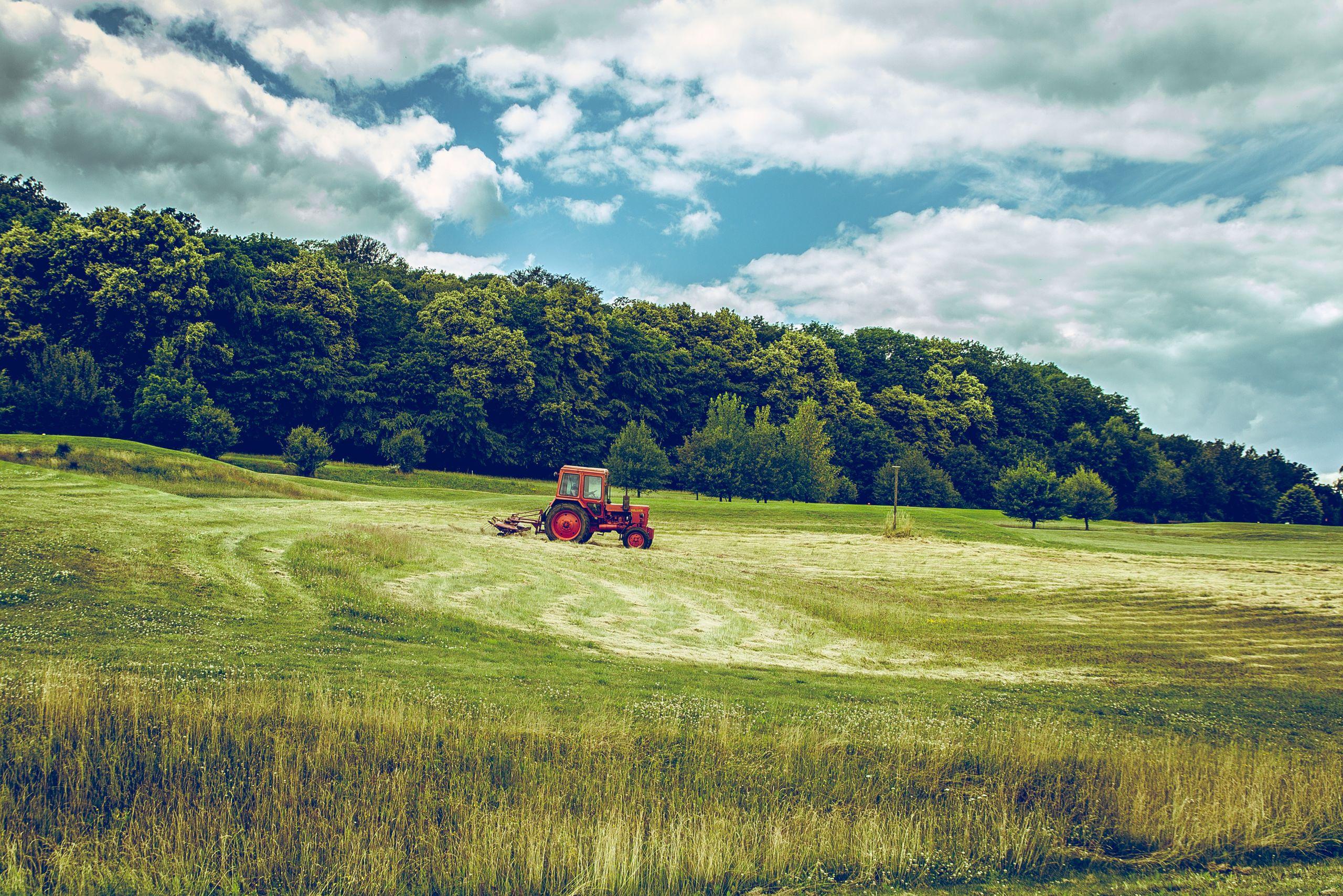 Mangler du en rotorharve til din traktor?
