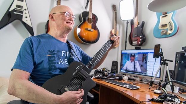 Bo trodser sclerosen: - Musikken får mig til at overleve min alvorlige sygdom