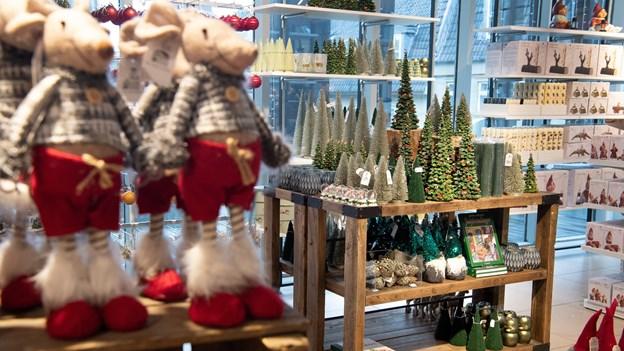 Pynt og delikatesser: Salling åbner ny stor juleshop