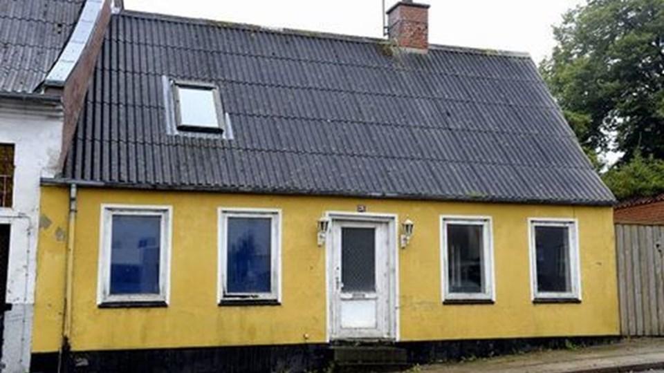 Dette hus i Asylgade ejes af kommunen - det er også med på listen.