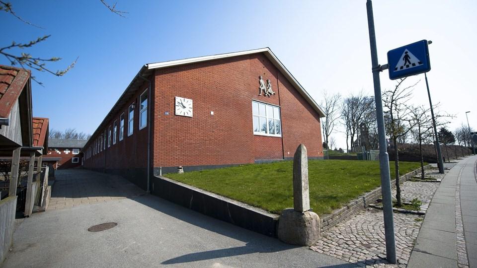 Hundborg Skole kommer fremover til at huse sprogskolen. Arkivfoto: Diana Holm