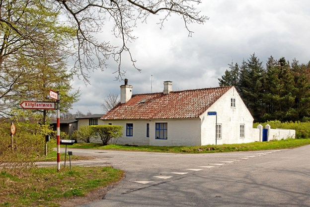 Knud Larsens hus i Svinkløv.Foto: Ejgil Bodilsen