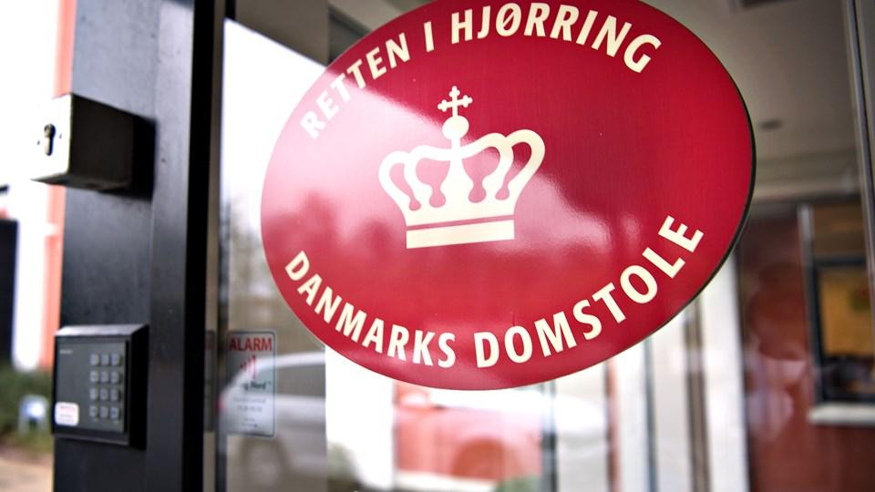 Sagen starter ved Retten i Hjørring 21. marts. Arkivfoto