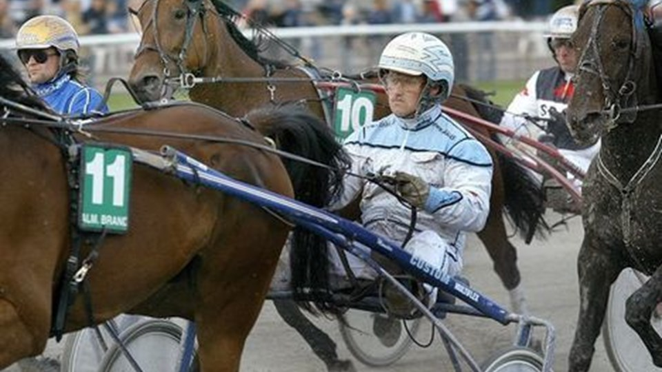 Kent Friborg havde succes på Århus-banen. Foto: Lars Pauli