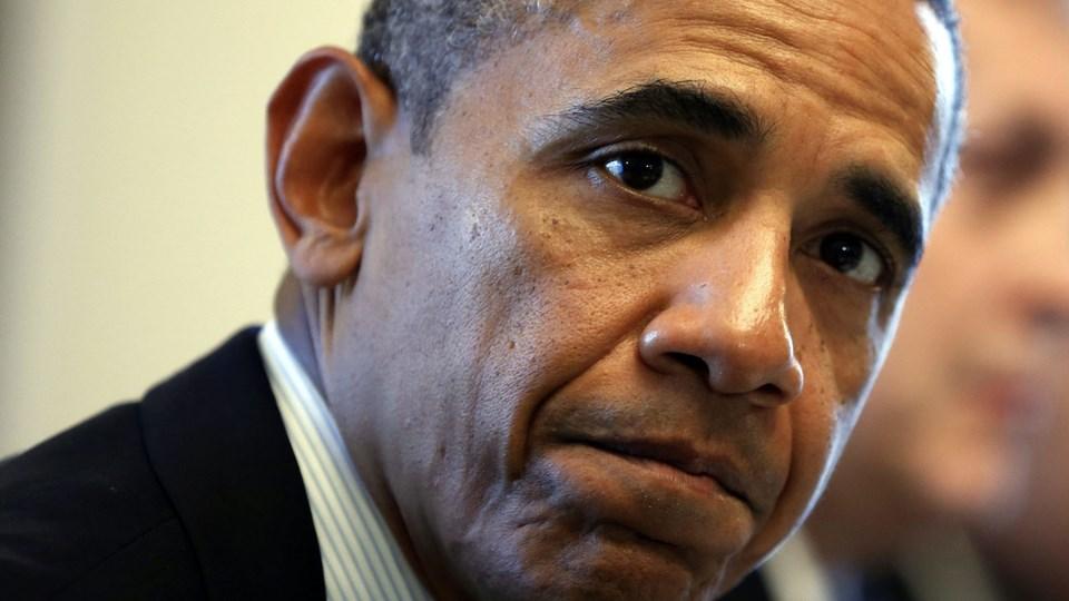 Barack Obama vil give diplomatiet en chance, før han bomber Syrien. Foto: Scanpix