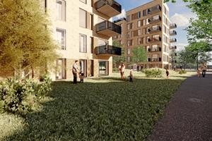 Op til syv etager: 110 nye boliger på vej til Brønderslev
