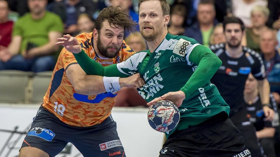 Skjern og Kasper Søndergaard er videre til DM-semifinalerne. Foto: Scanpix/Jørgen Kirk