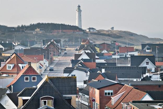 En arbejdsgruppe under Byforum Hirtshals arbejder på at få skabt en udsigtssti fra Nordsøen Oceanarium til Hirtshals Fyr.  Foto: Hans Ravn