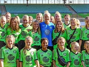 FC Thy Piger mødte Europas bedste i Wolfsburg