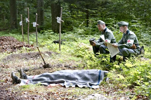 Militær historisk dag i Kunstskoven i Frederikshavn. Arkivfoto: Bente Poder