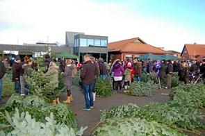 Julemarked i Strandby