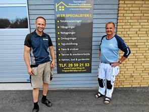 Nyt tømrerfirma er åbnet i Dronninglund