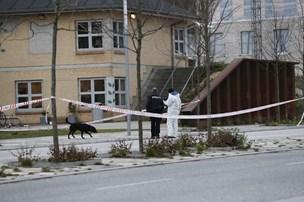 Politiet skyder mand med kniv - er i kritisk tilstand