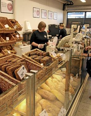 Bagerbutikken åbnede til tiden