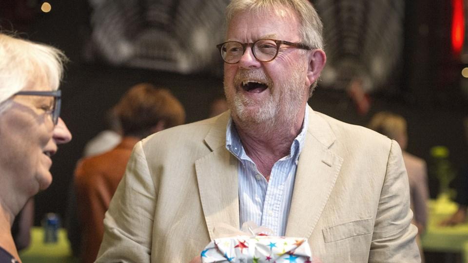 Peter Schrøder fortæller om sin vej til Vendsyssel Teater. Arkivfoto: Laura Guldhammer