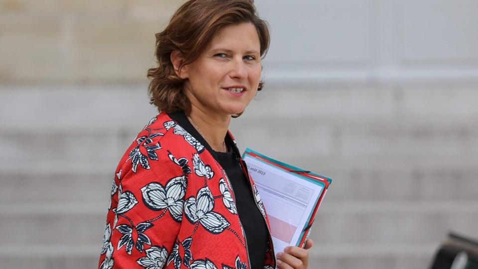 På billedet ses Frankrigs sportsminister, Roxana Maracineanu, der har kritiseret fodboldpræsident Noel Le Graët for holdningen om, at racisme og homofobi ikke bør sammenlignes.