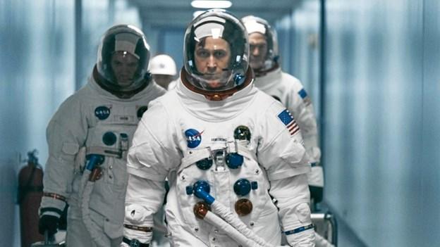 Filmen går tæt på kapløbet om at få den første mand på månen. Pressefoto