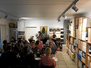 Italiensk vinbesøg i Støvring