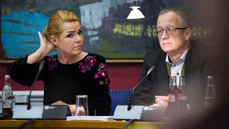 Udlændinge- og integrationsminister Inger Støjberg (V) erkender, at alvorligt syge udlændinge kan være blevet hjemsendt i strid med menneskeretsdom på grund af travlhed i ministeriet. Men lemfældighed er der ikke tale om, siger hun. Foto: Scanpix/Jens Astrup/arkiv