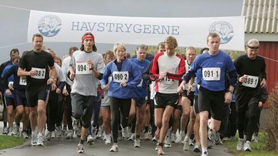 Havstrygerne inviterer til løb i morgen i Horne. Arkivfoto: Bente Poder