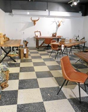 Nyt showroom hos Friis i Butikscenter Hadsund