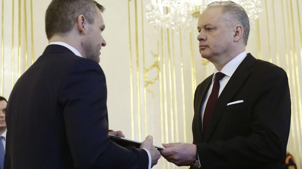 Slovakiet har fået en ny premierminister. Foto: Reuters/David W Cerny