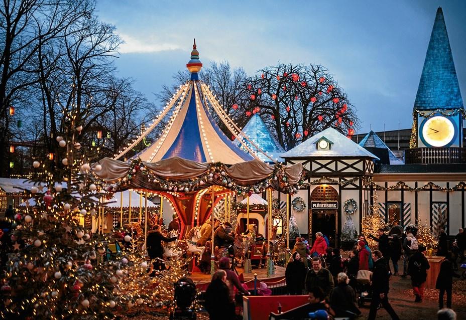 Hyggelig juletur til Tivoli