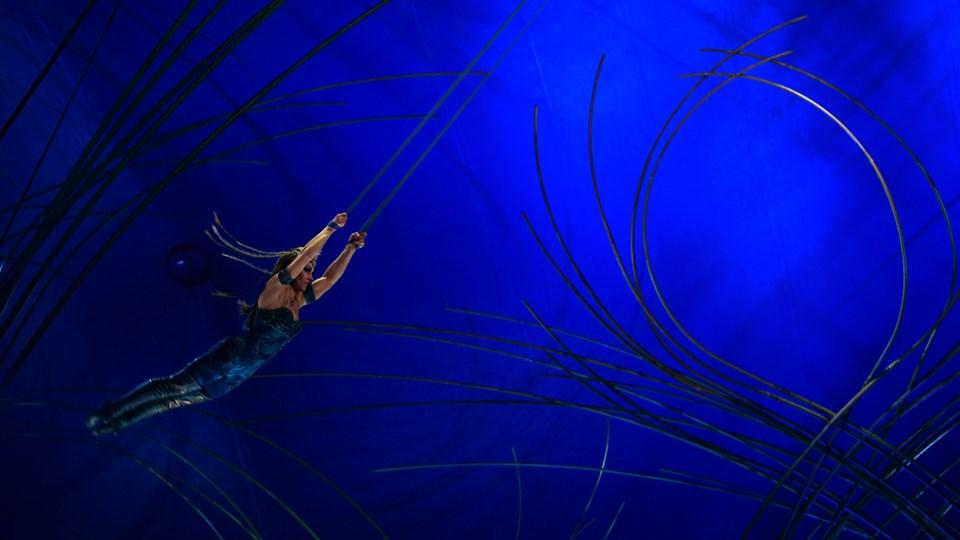 Franskmanden Yann Arnauds død er det tredje dødsfald i Cirque du Soleils 34 år. Foto: Scanpix/Tiziana Fabi/arkiv