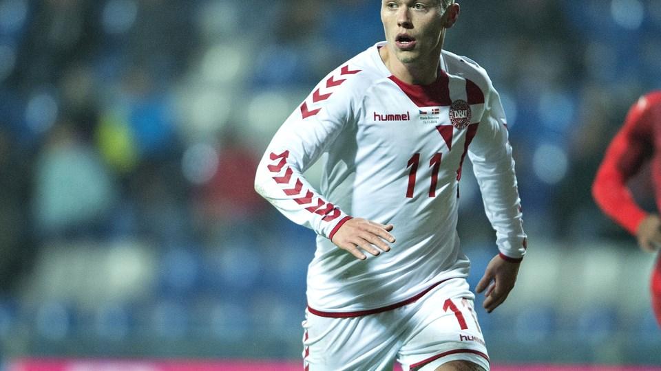 FC København har købt Viktor Fischer fri af bundesligaklubben Mainz 05. Den danske landsholdsangriber tiltræder på en femårig aftale. Arkivfoto: Henning Bagger, Scanpix